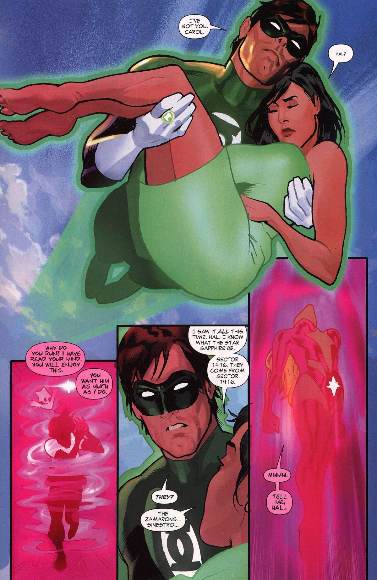Green Lantern Wanted Hal Jordan review