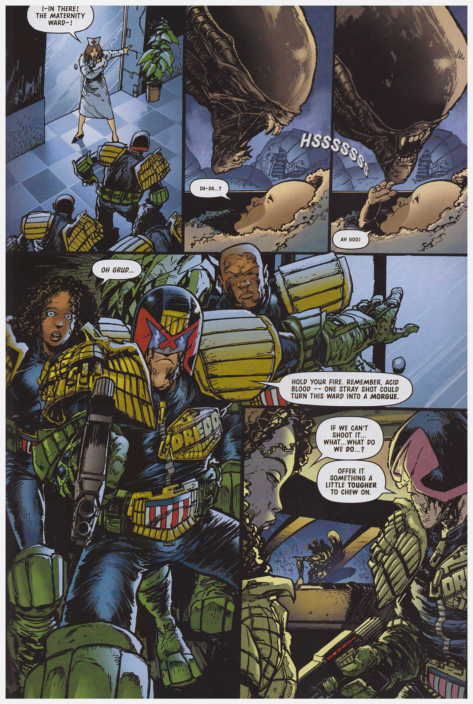 Judge Dredd Versus Aliens review