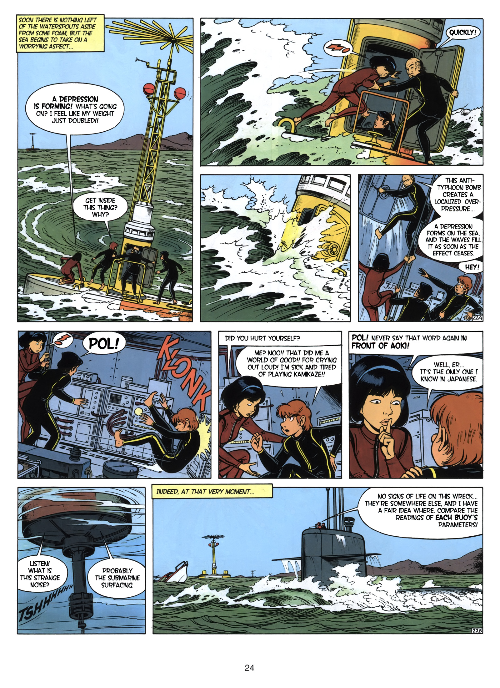 Yoko Tsuno Daughter of the Wind review