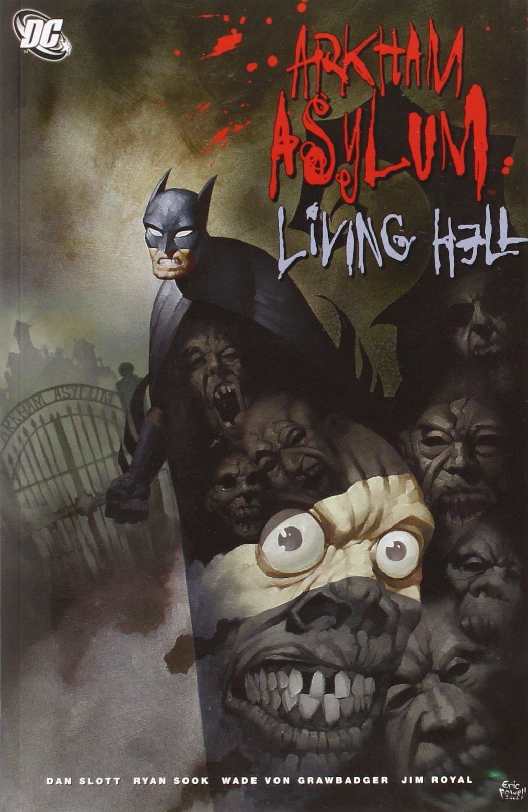 arkham asylum graphic novel pdf