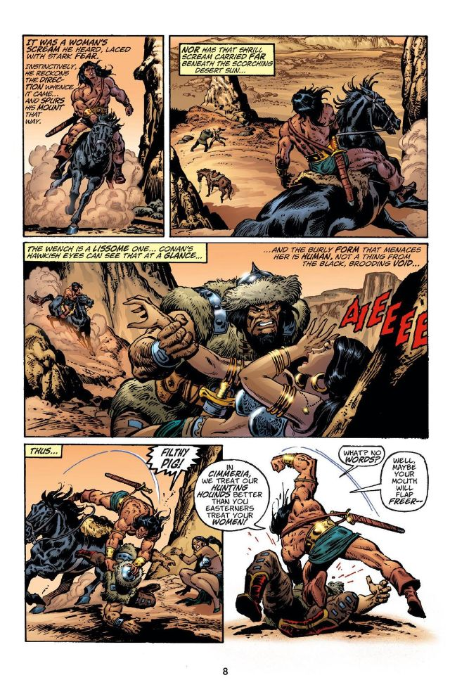 Chronicles of Conan 5 The Shadow in the Tomb review