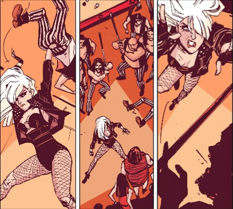 Black Canary Kicking and Screaming review