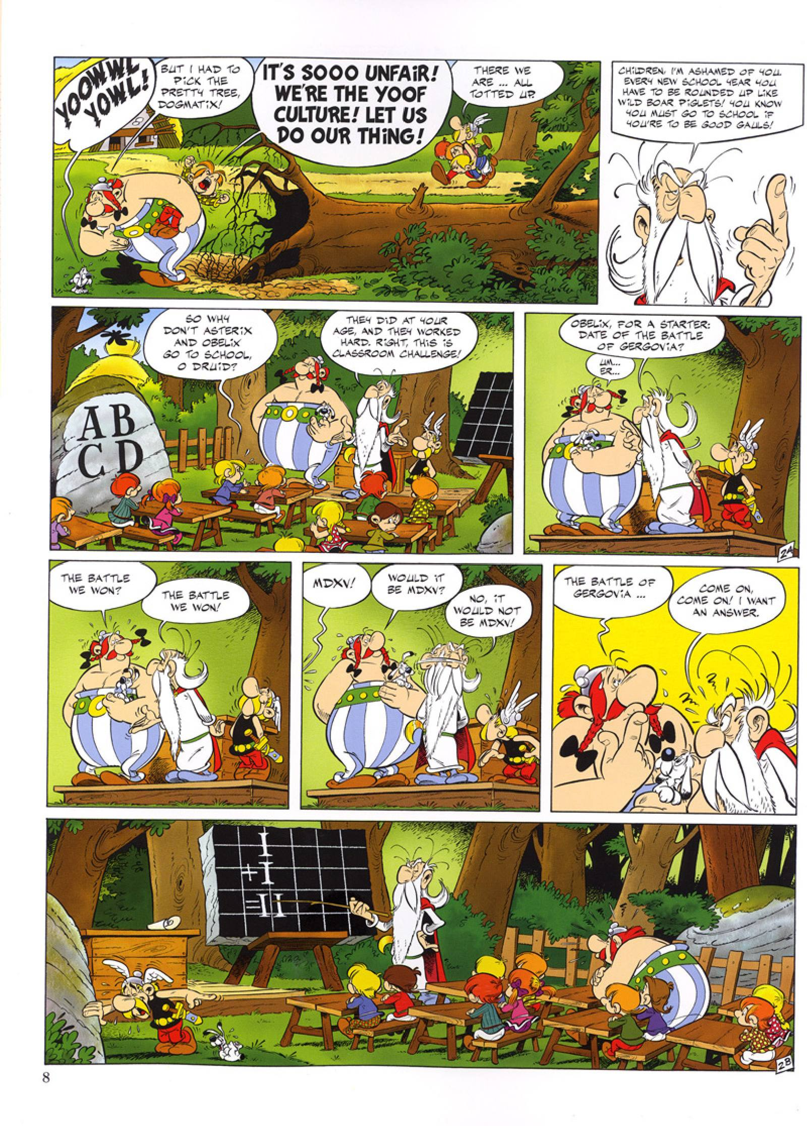 Asterix and the Class Act review
