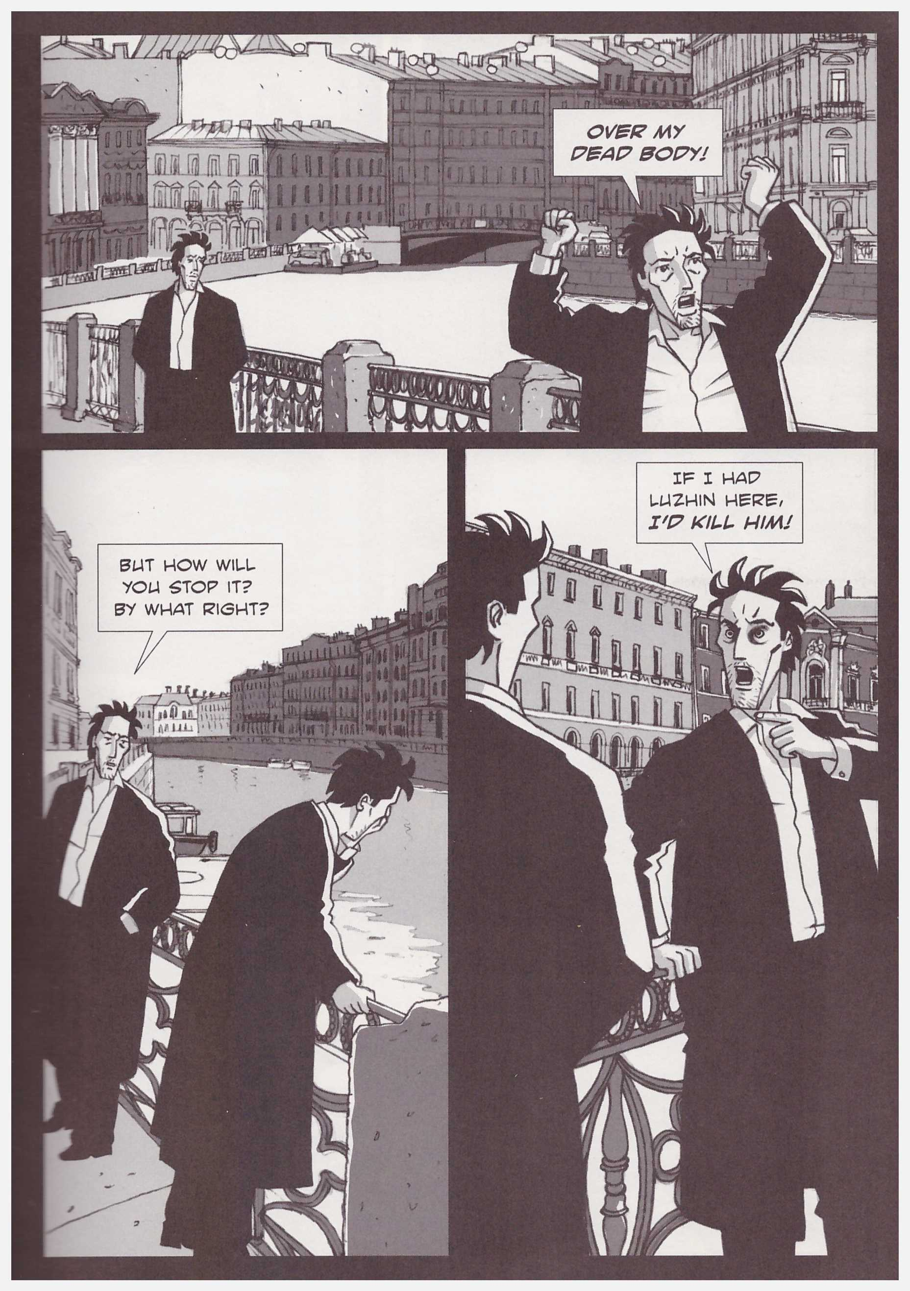 Crime and Punishment graphic novel review