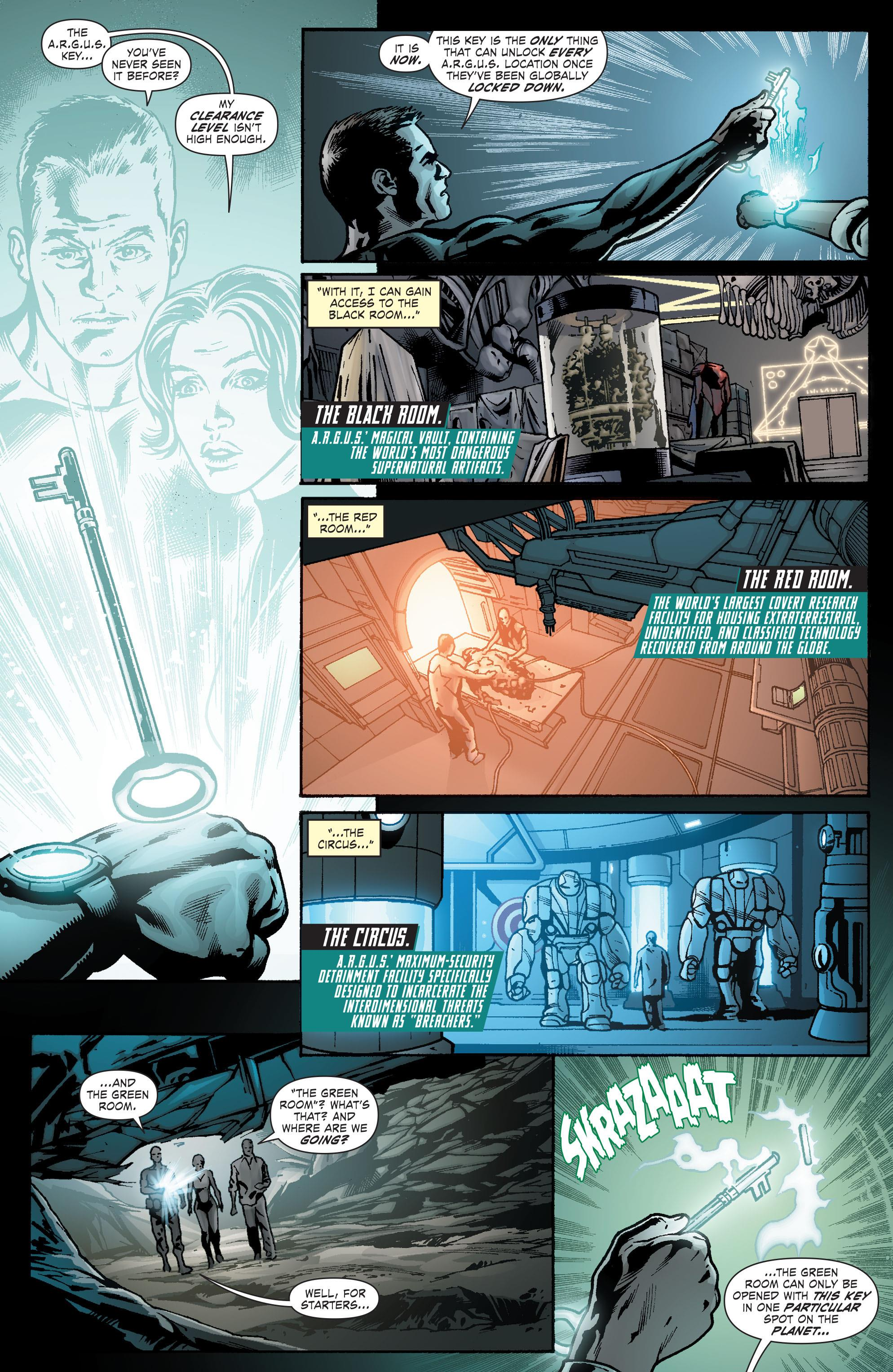 Forever Evil A.R.G.U.S review