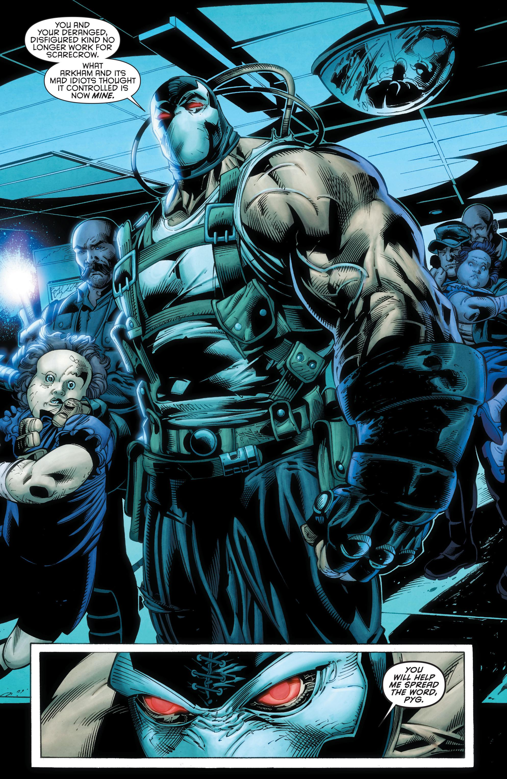 Forever Evil Arkham War review