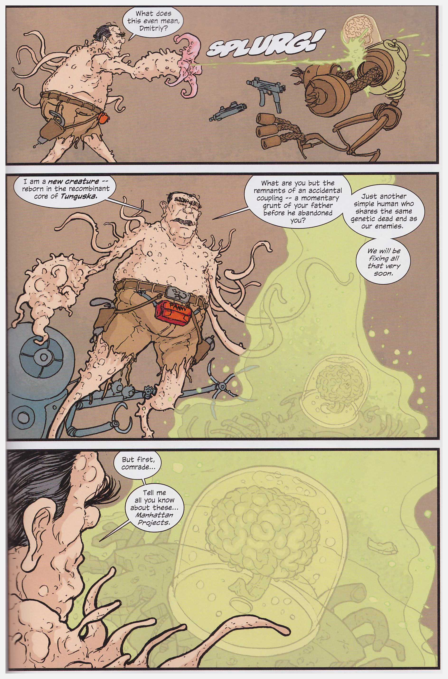 Manhattan Projects 5 review