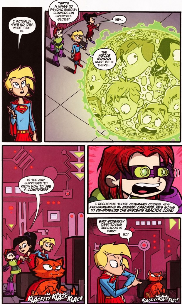 Supergirl Cosmic Adventures in the 8th Grade review