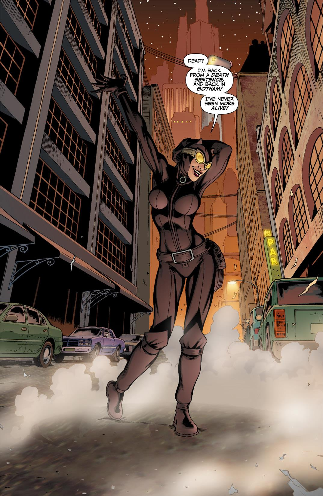 Catwoman_The_Long_Road_Home review