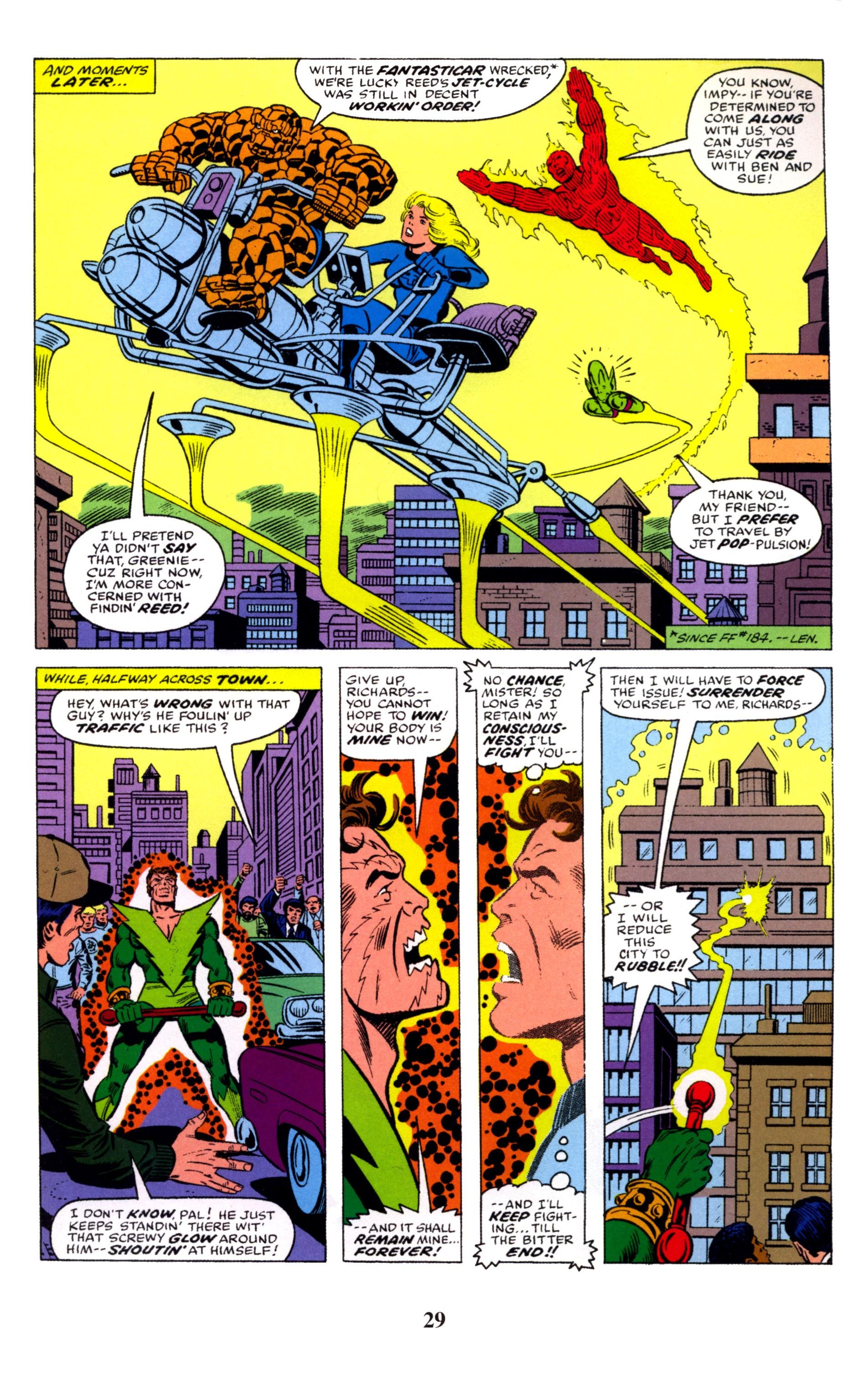 Fantastic Four Visionaries George Perez review