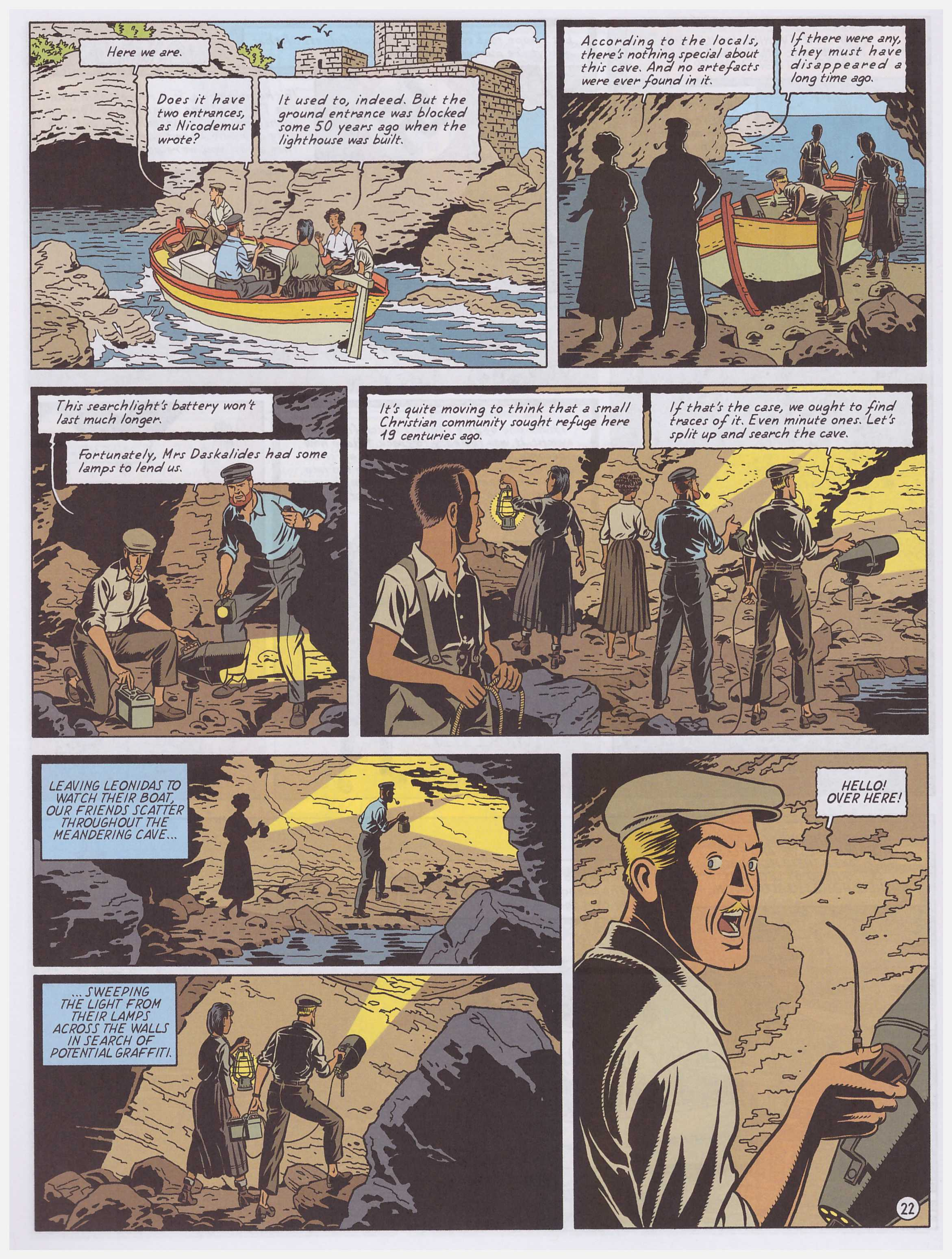 Blake and Mortimer: The Curse of the 30 Pieces of Silver part 2 review