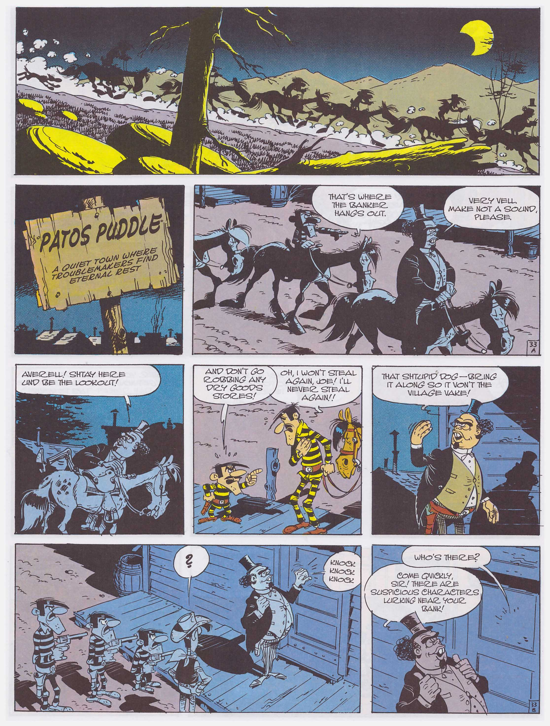 Lucky Luke Cure For The Daltons review