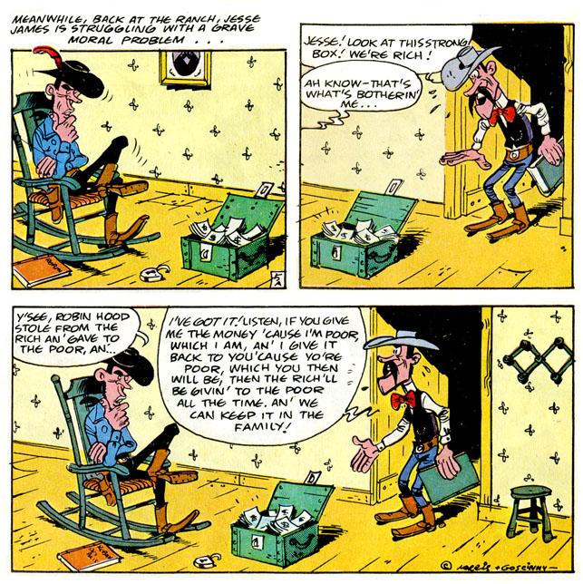 Lucky Luke Jesse James review