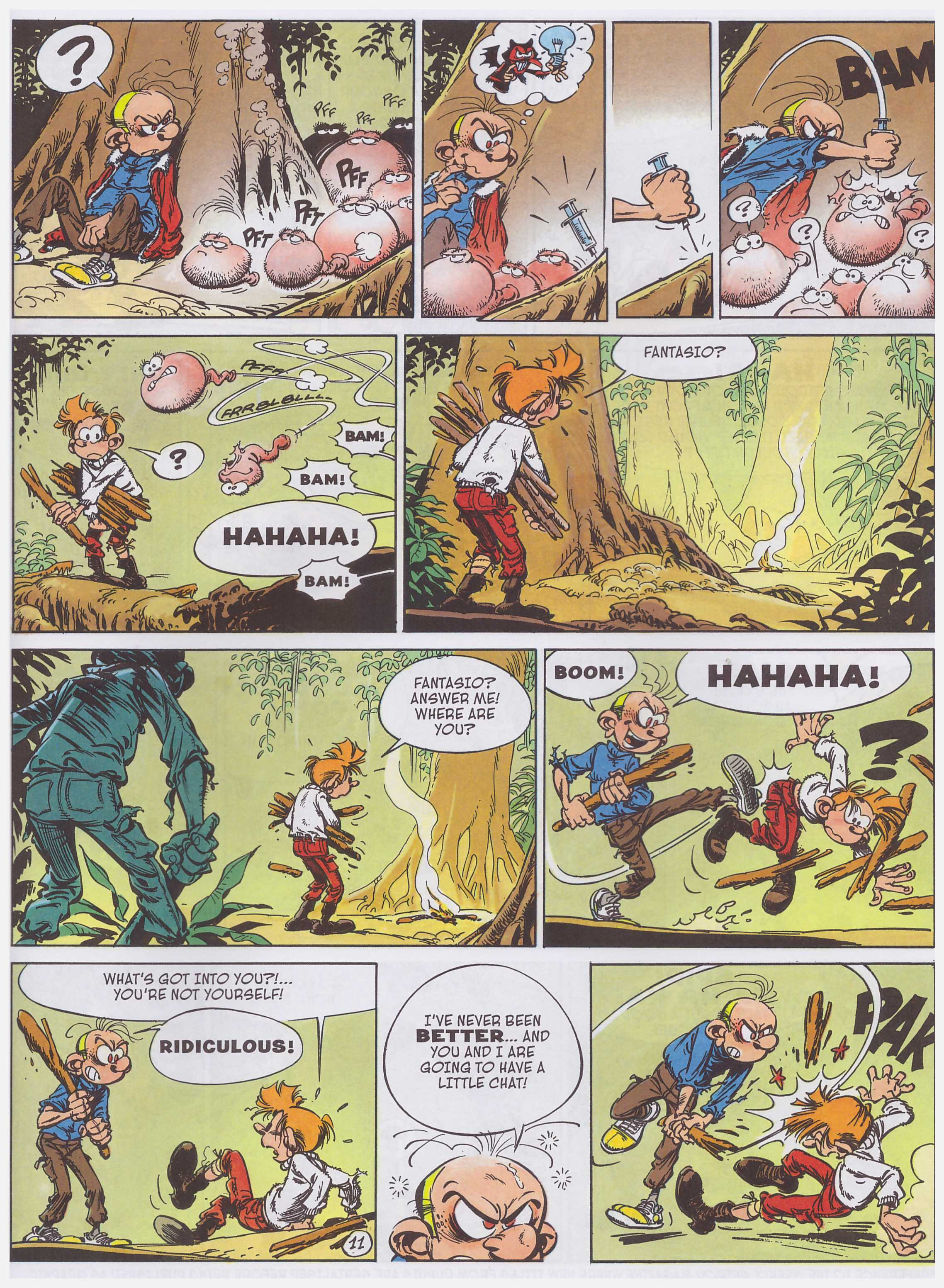 Spirou and Fantasio VAlley of the Exiles review