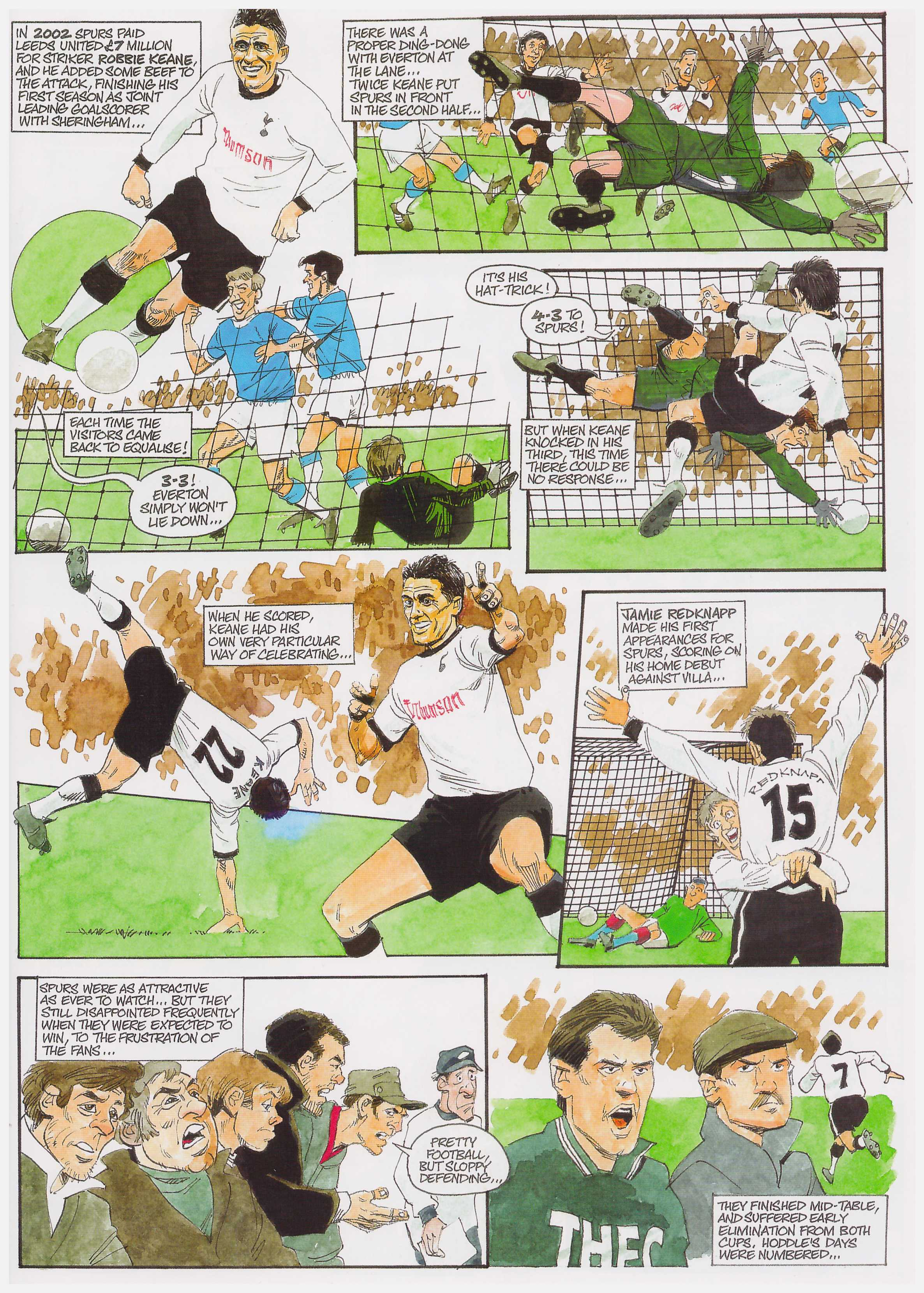 Spurs The Official Comic Strip History review