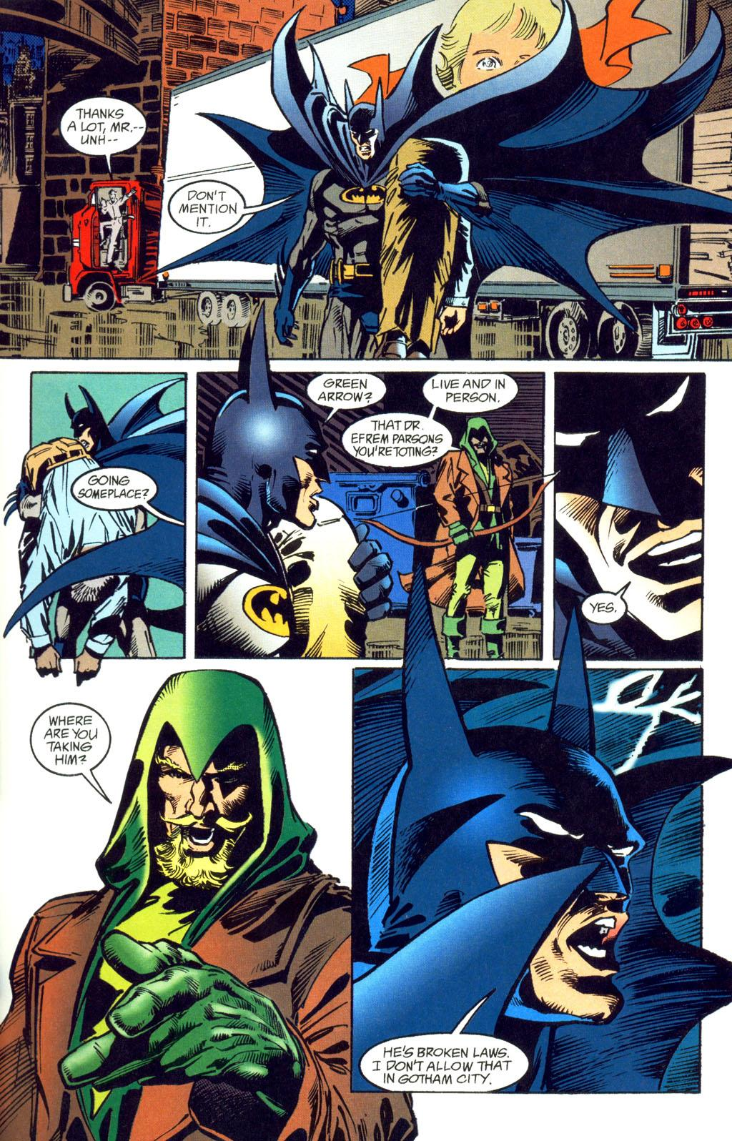 Batman Green Arrow The Poison Tomorrow review