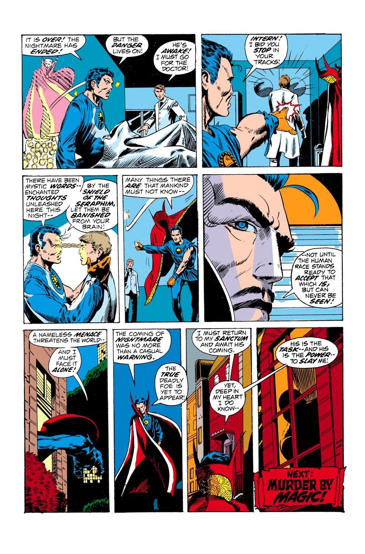 Marvel Masterworks Doctor Strange vol 4 review