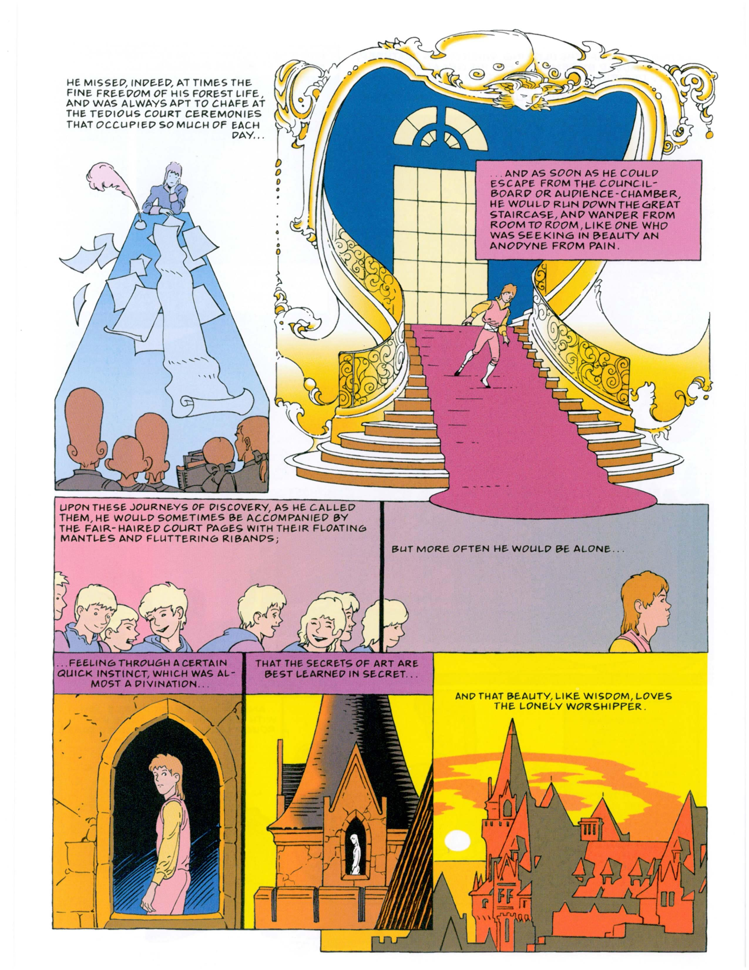 The Fairy Tales of Oscar Wilde graphic novel review