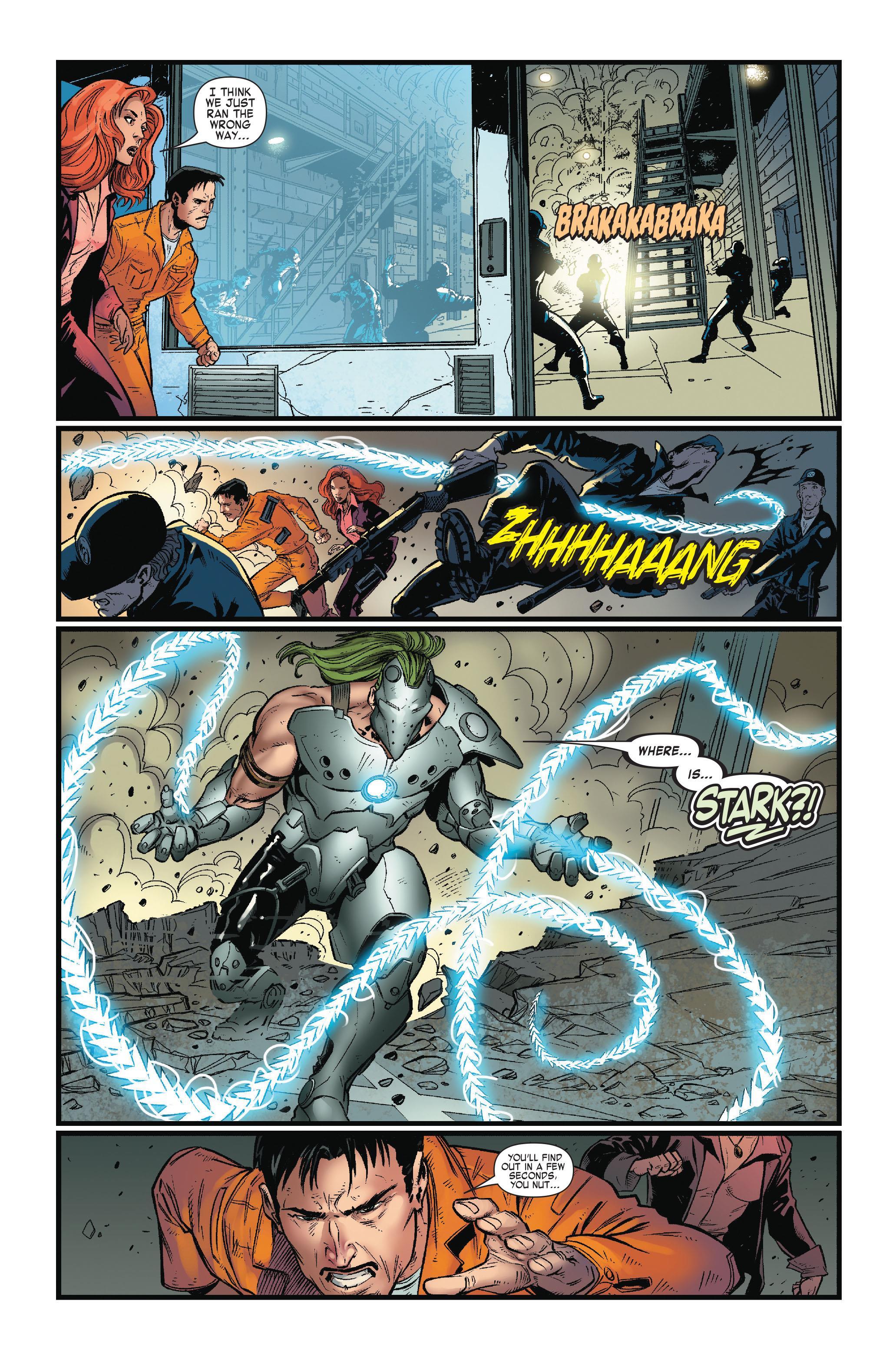 Iron Man vs Whiplash review