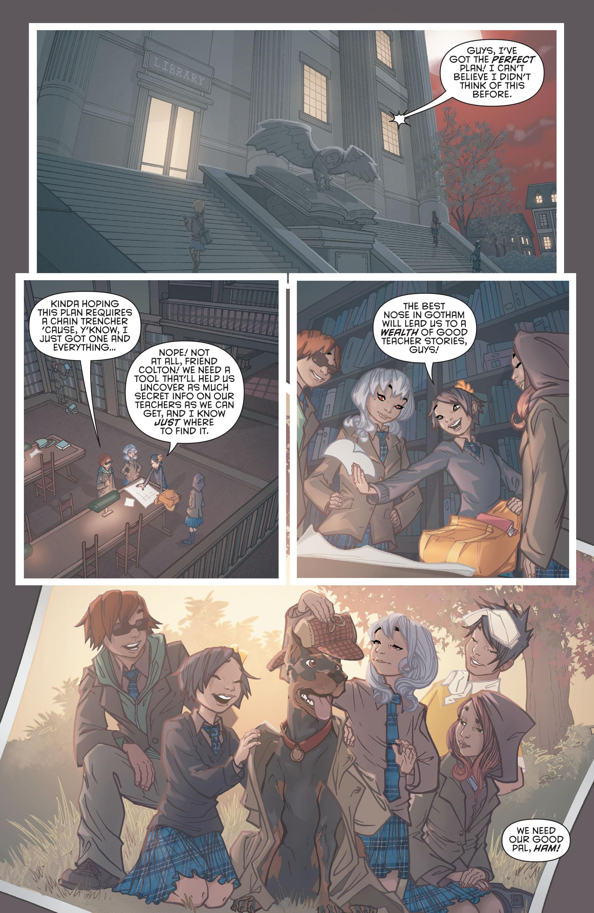 Gotham Academy Yearbook review