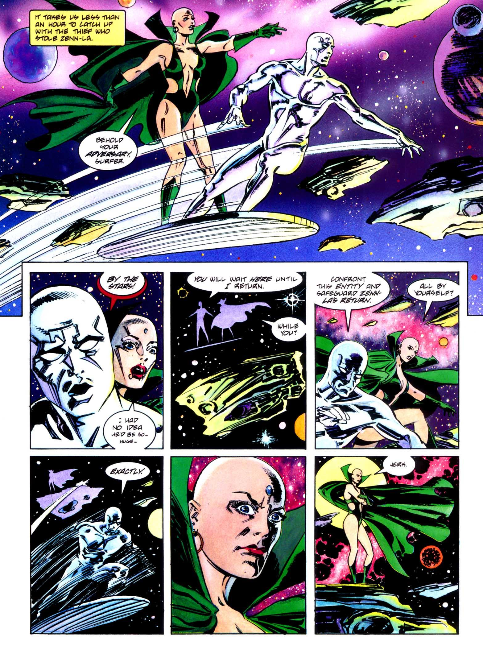 Silver Surfer Homecoming review