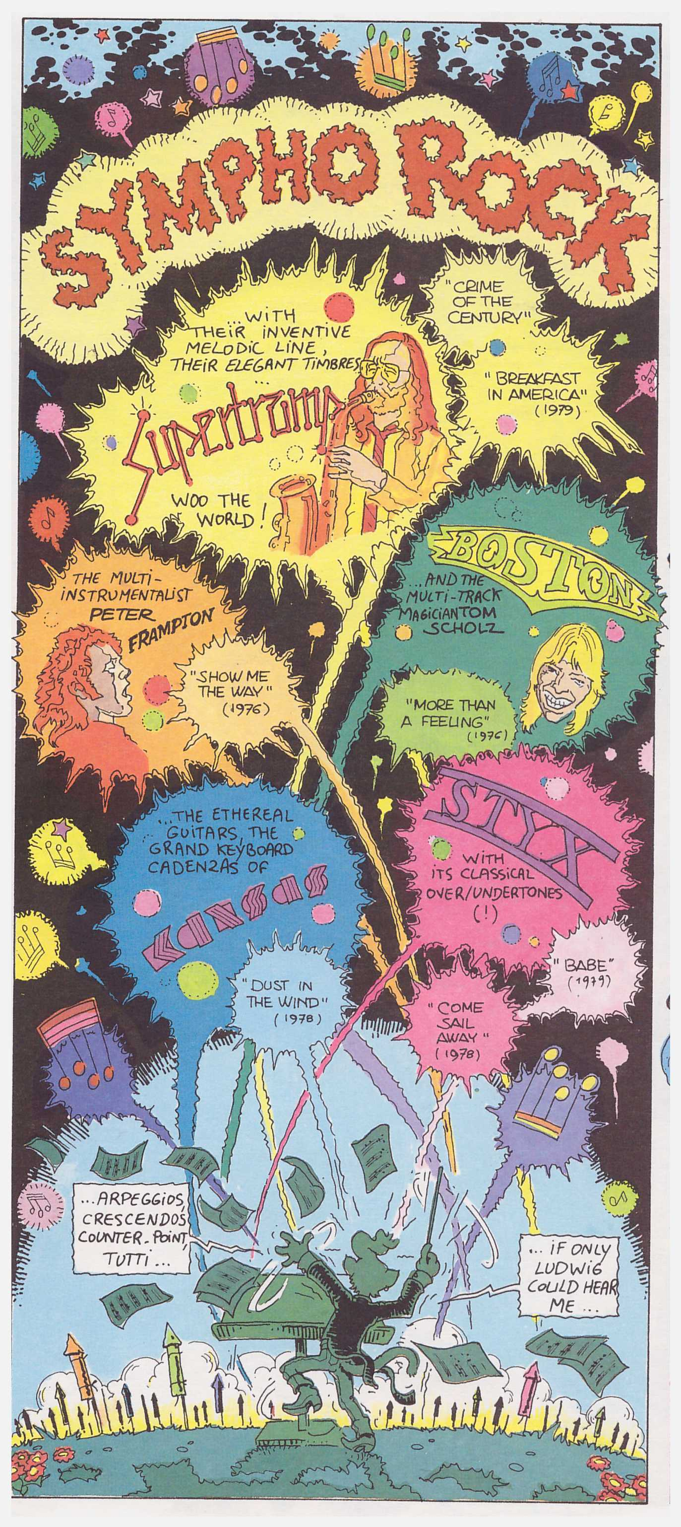 The Cartoon History of Rock and Roll review