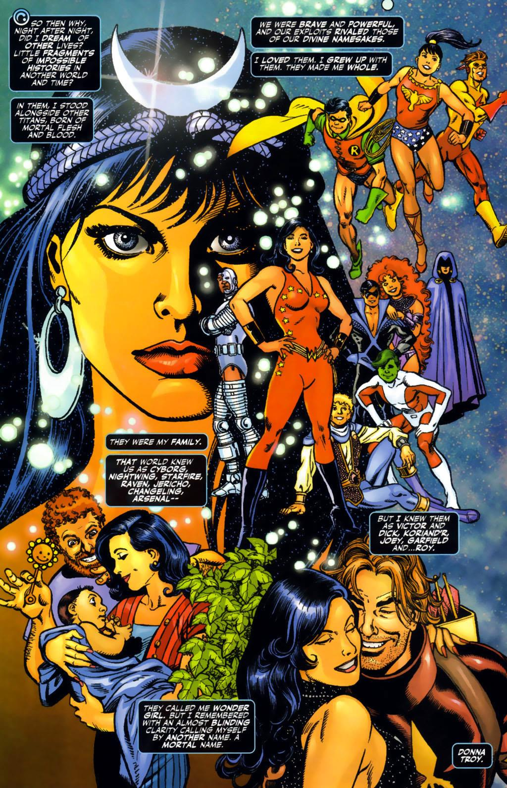 Teen Titans Outsiders The Death and Return of Donna Troy review