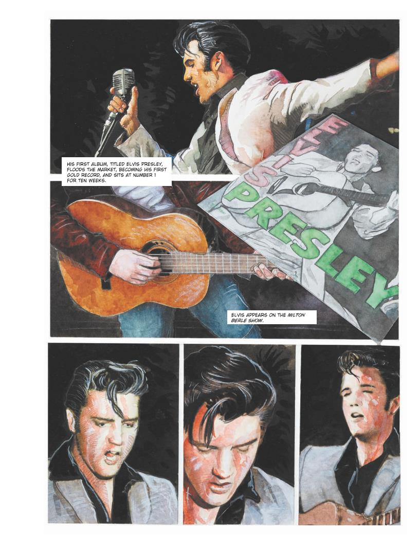 Elvis Graphic novel review