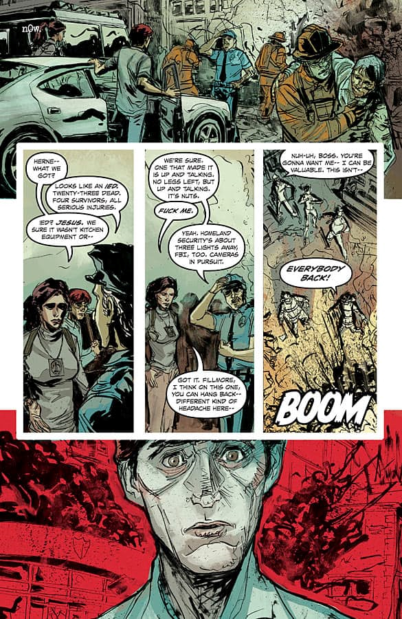 Bedlam Volume 2 Graphic Novel review