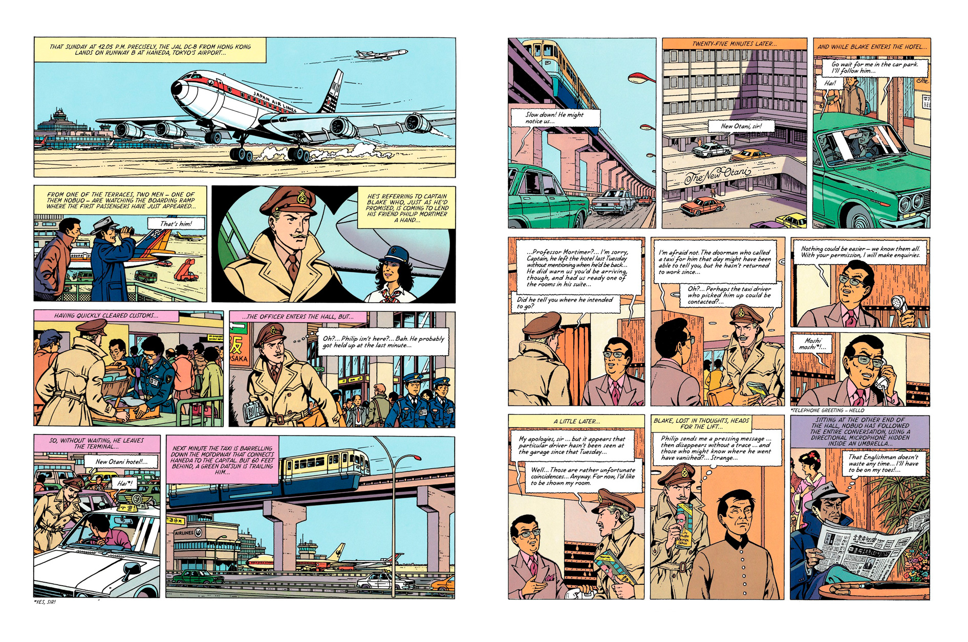 Blake and Mortimer: Professor Satō's Three Formulae