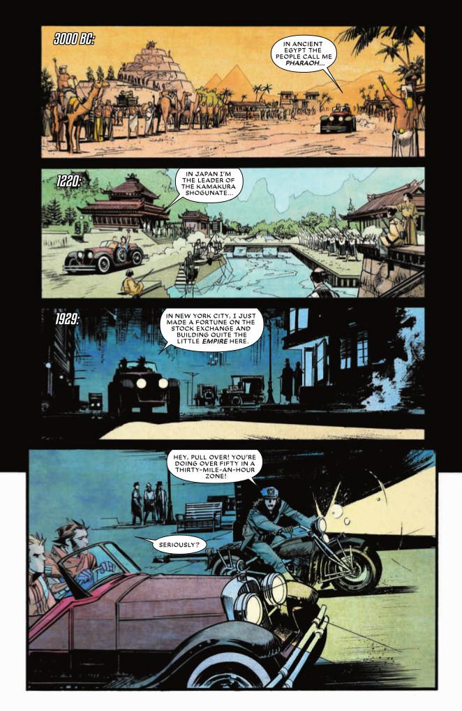 Chrononauts Graphic Novel review