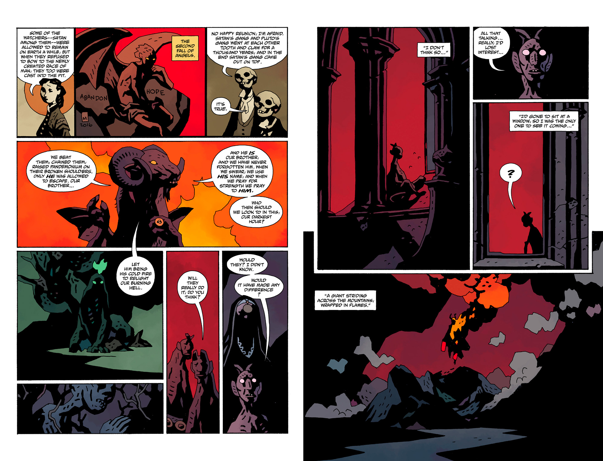 Hellboy in Hell The Death Card review