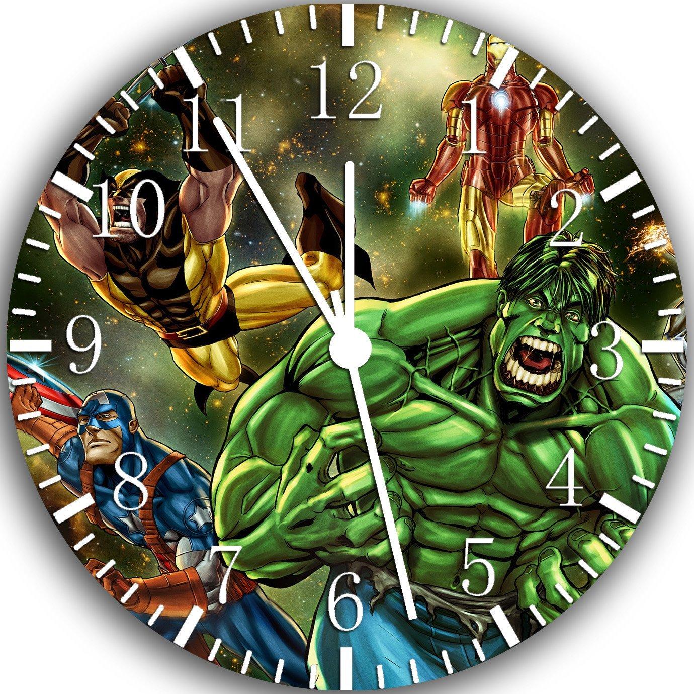 Slings arrows hulk avengers wall clock amipublicfo Images