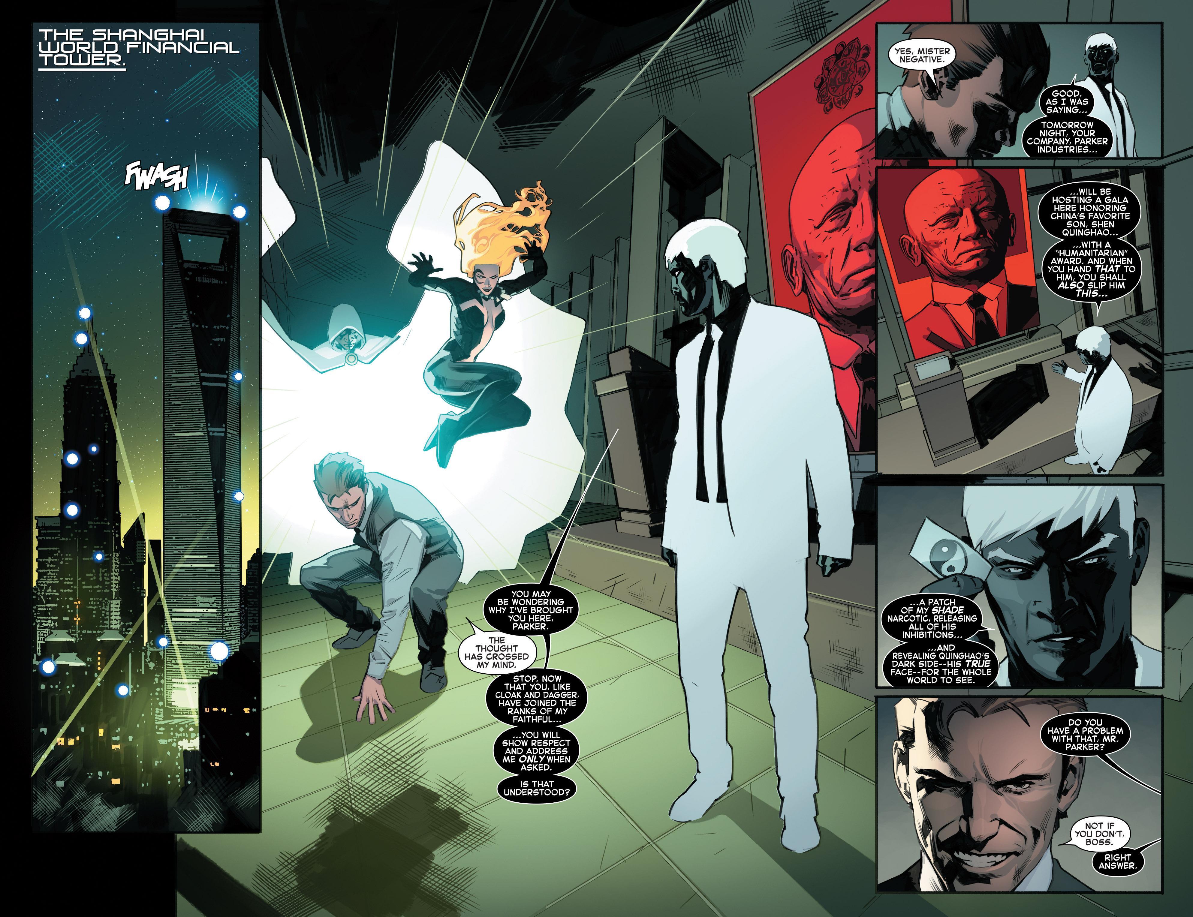 Amazing Spider-Man Worldwide Scorpio Rising review