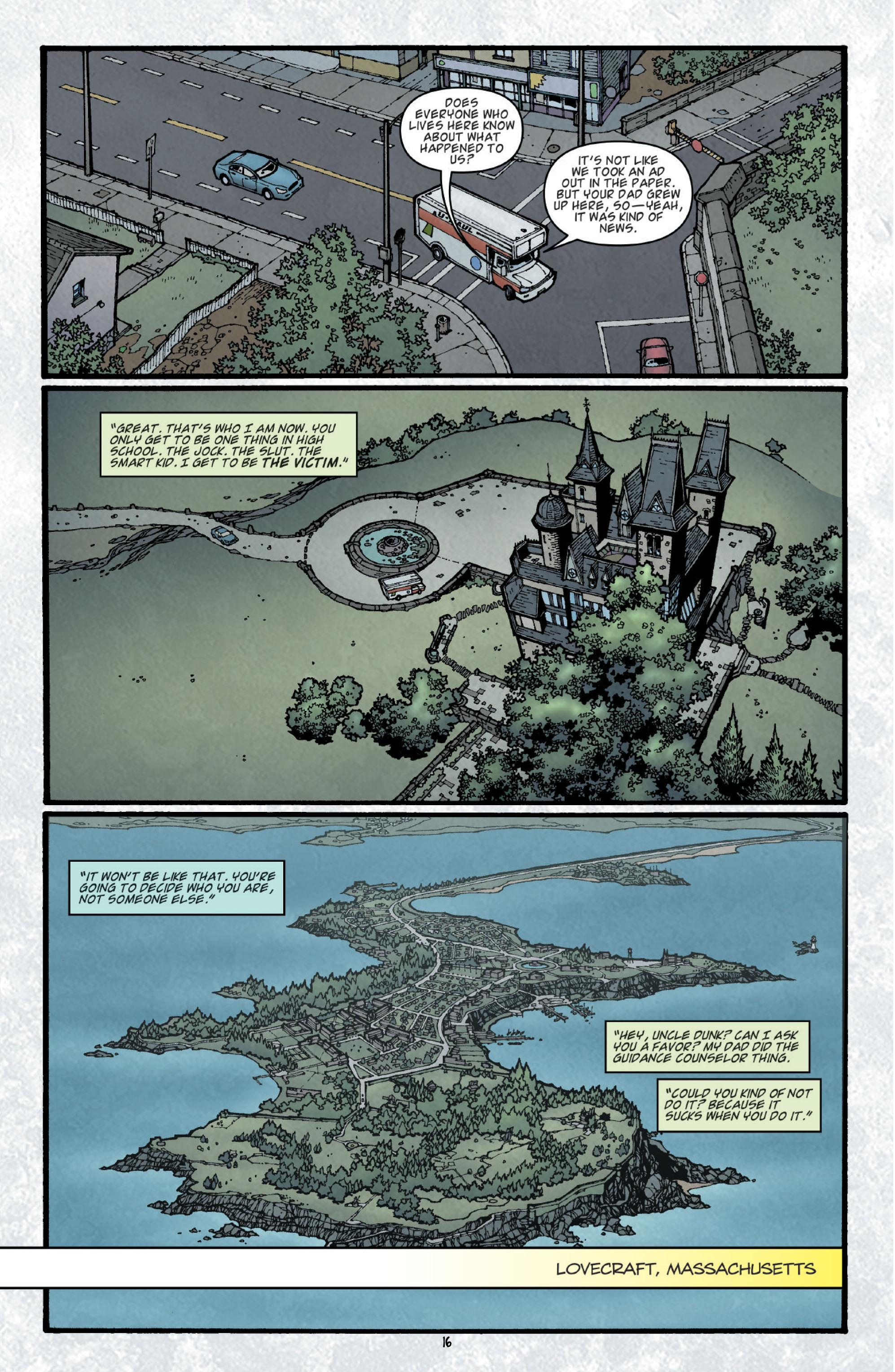 Locke & Key Welcome to Lovecraft review