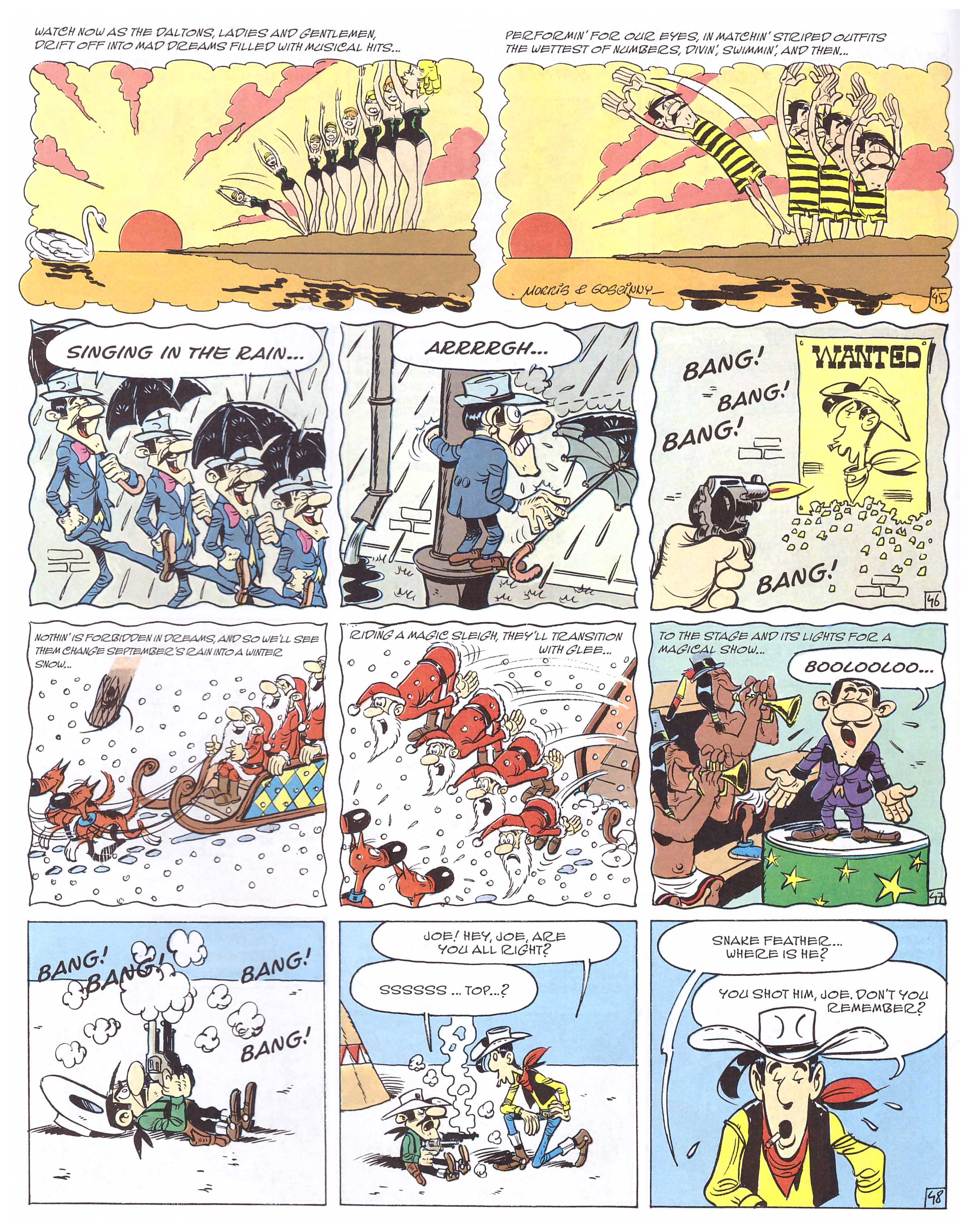 Lucky Luke The Ballad of the Daltons review