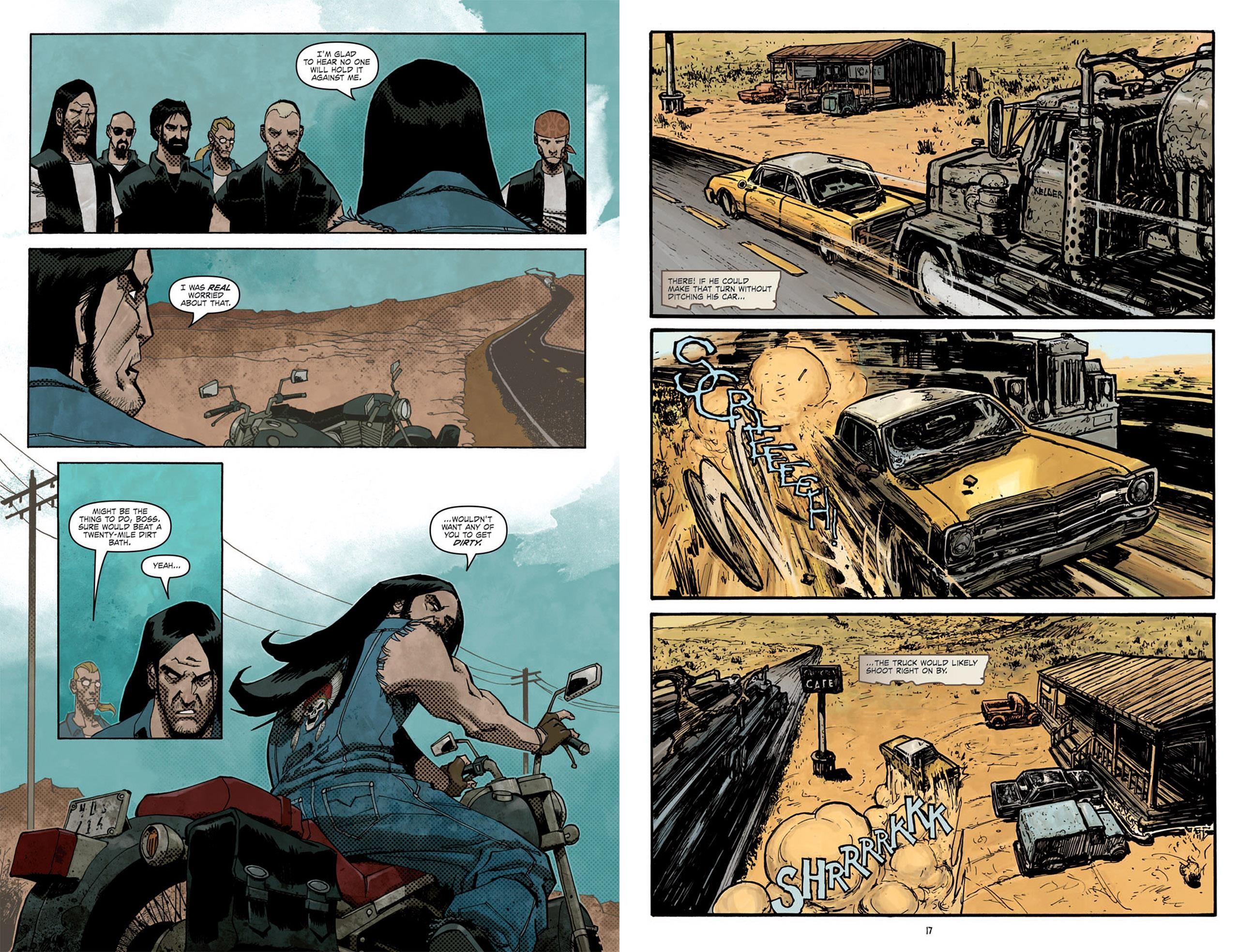 Road Rage graphic novel reivew