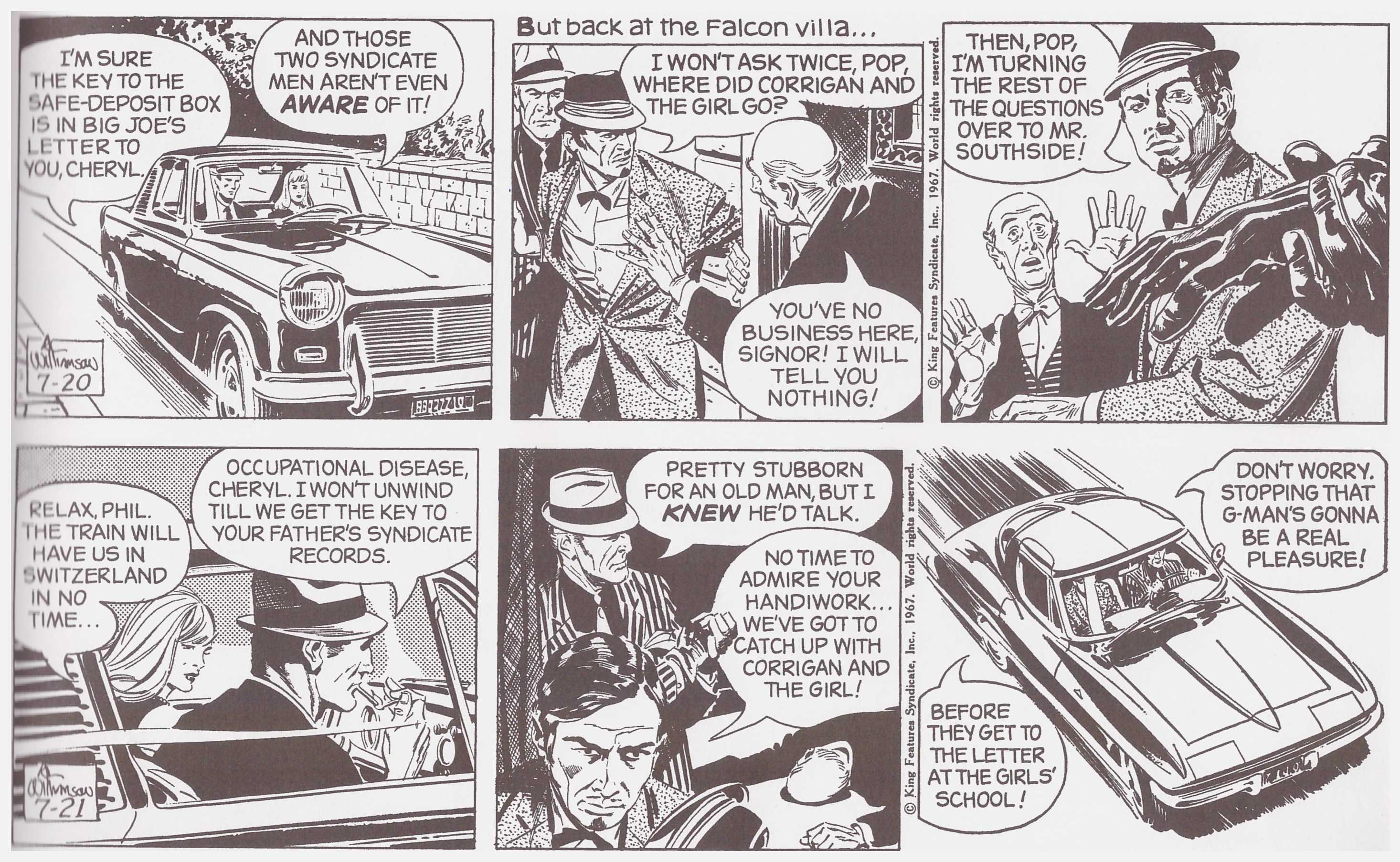 Secret Agent Corrigan Volume One review