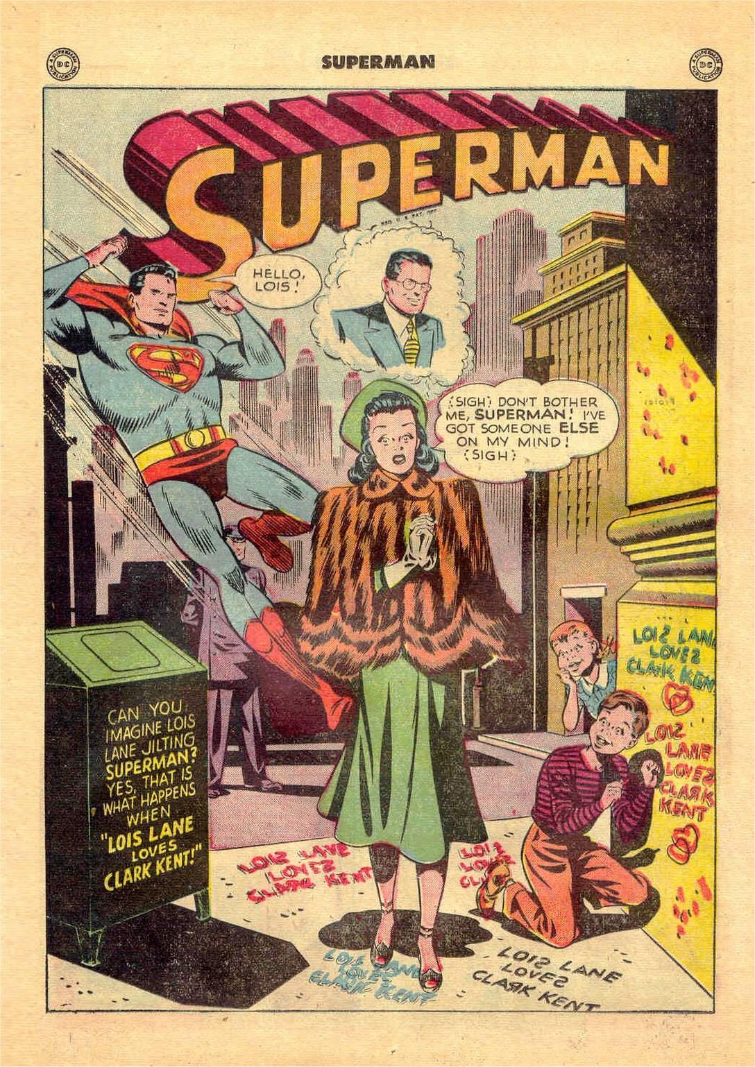 Superman in the Forties review