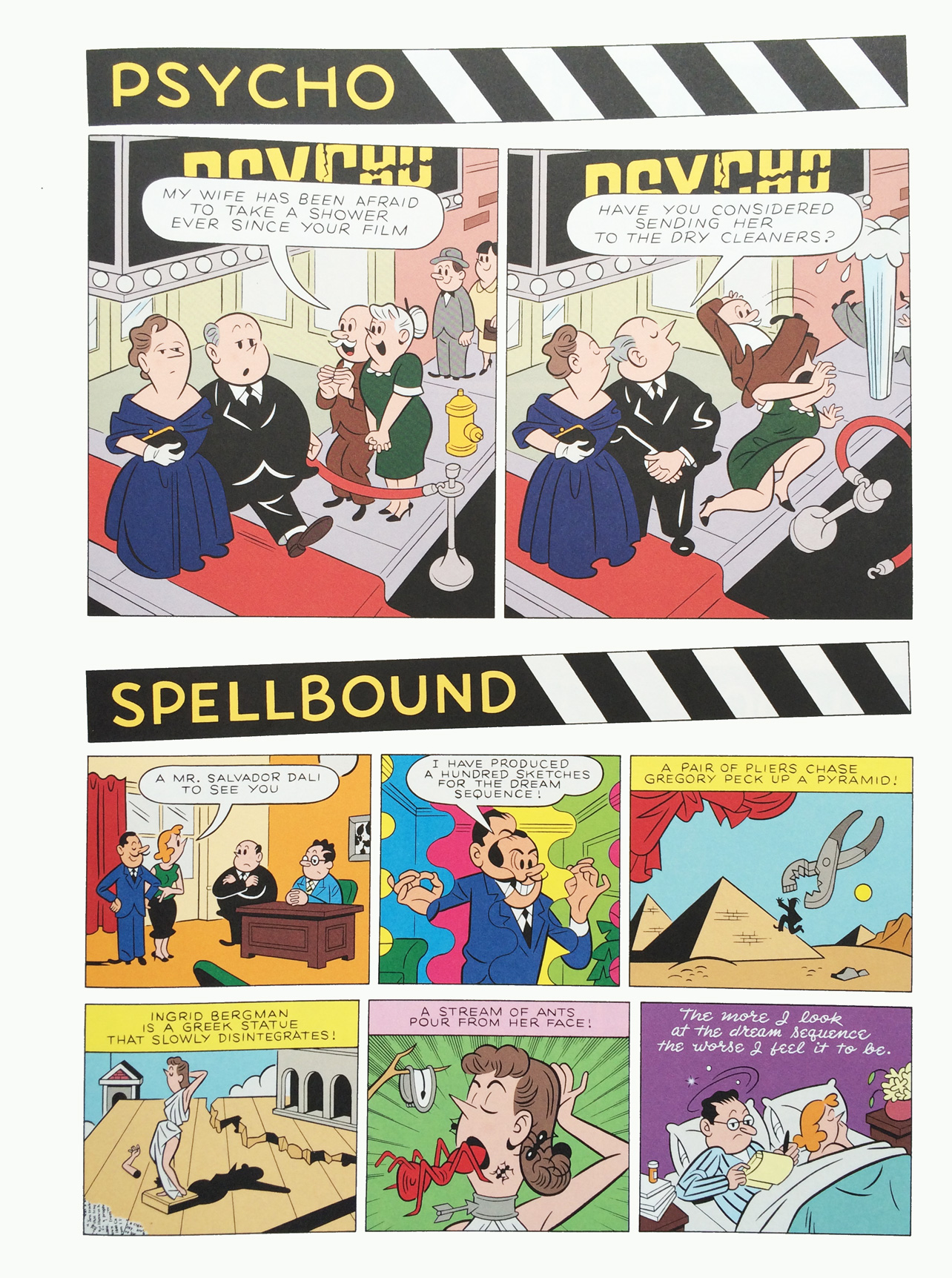 Sir Alfred #3 - Psycho and Spellbound