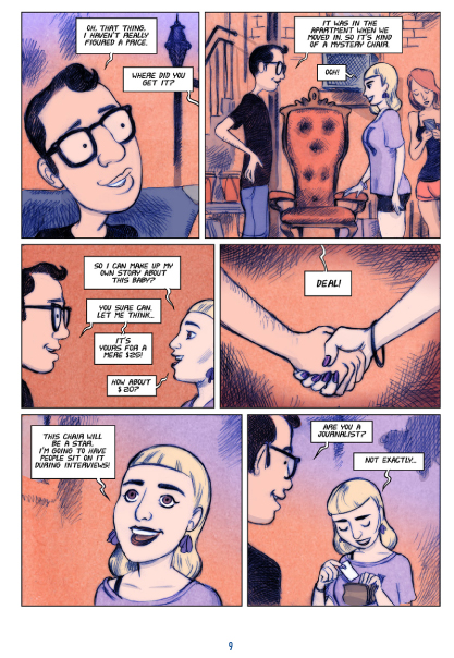 Love Addict graphic novel review