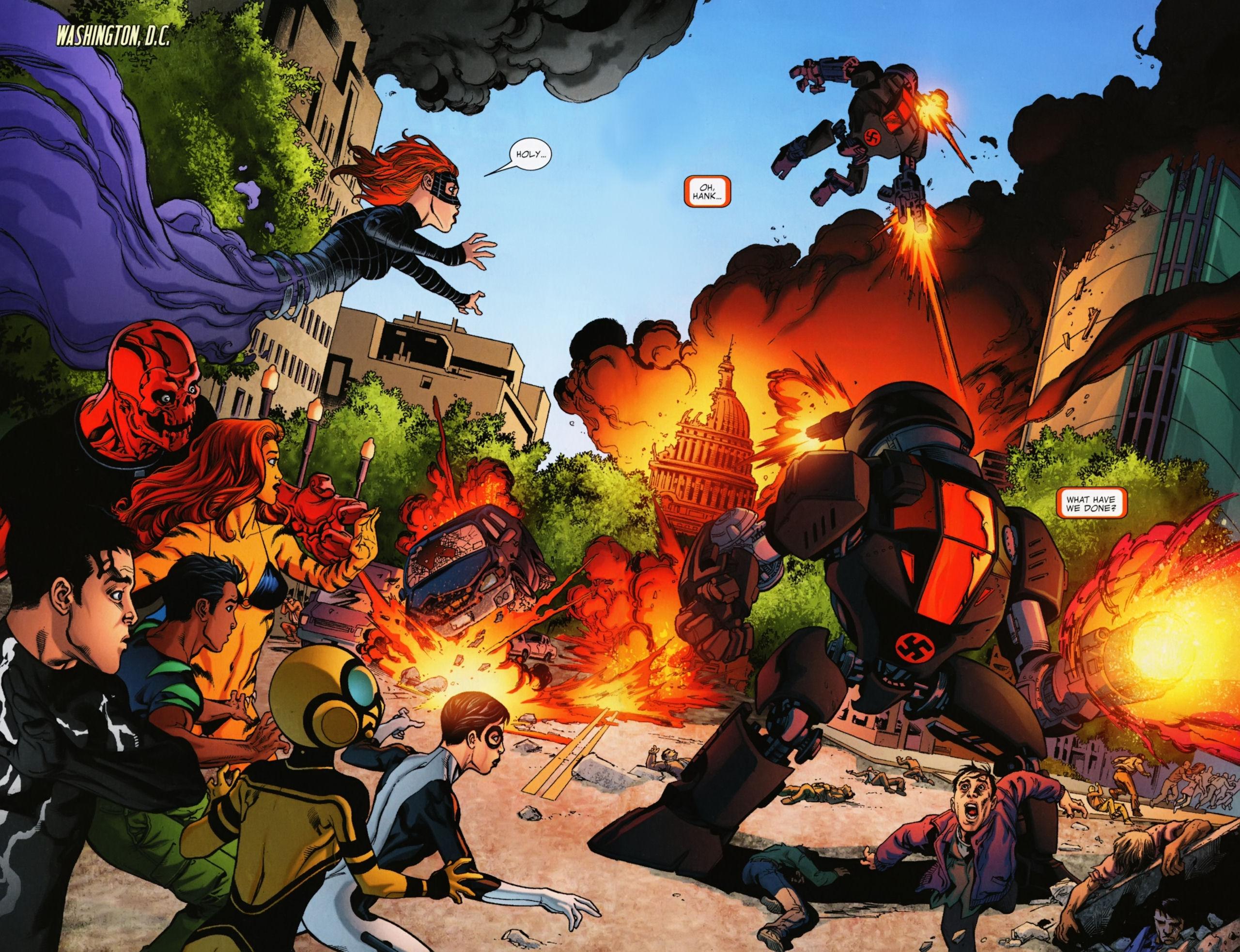 Avengers Academy Fear itself review