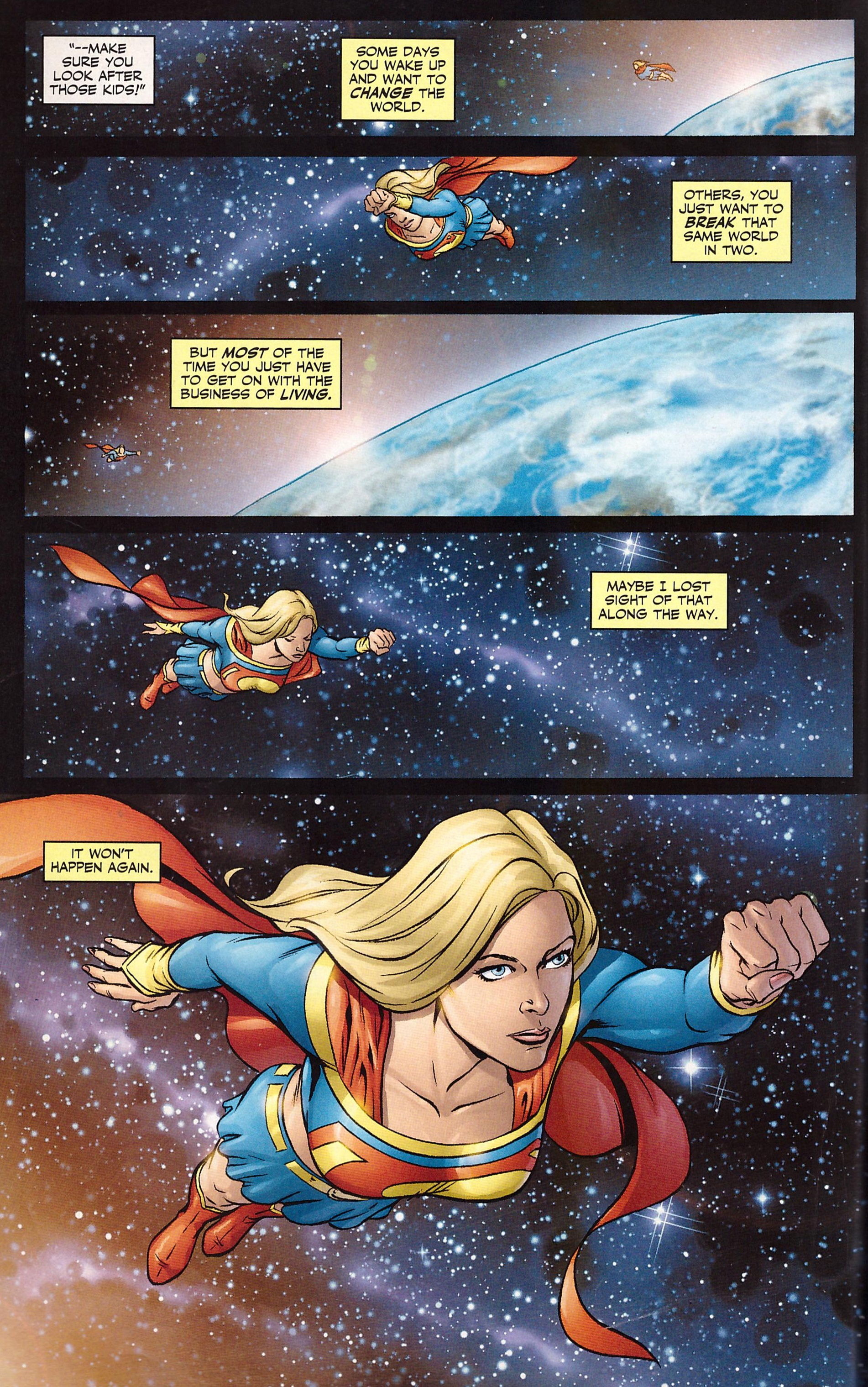Supergirl Way of the World review