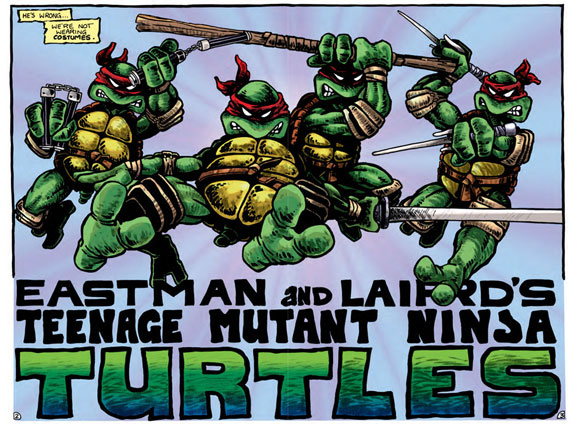 eastman & lairds teenage mutant ninja turtles volume 1 review