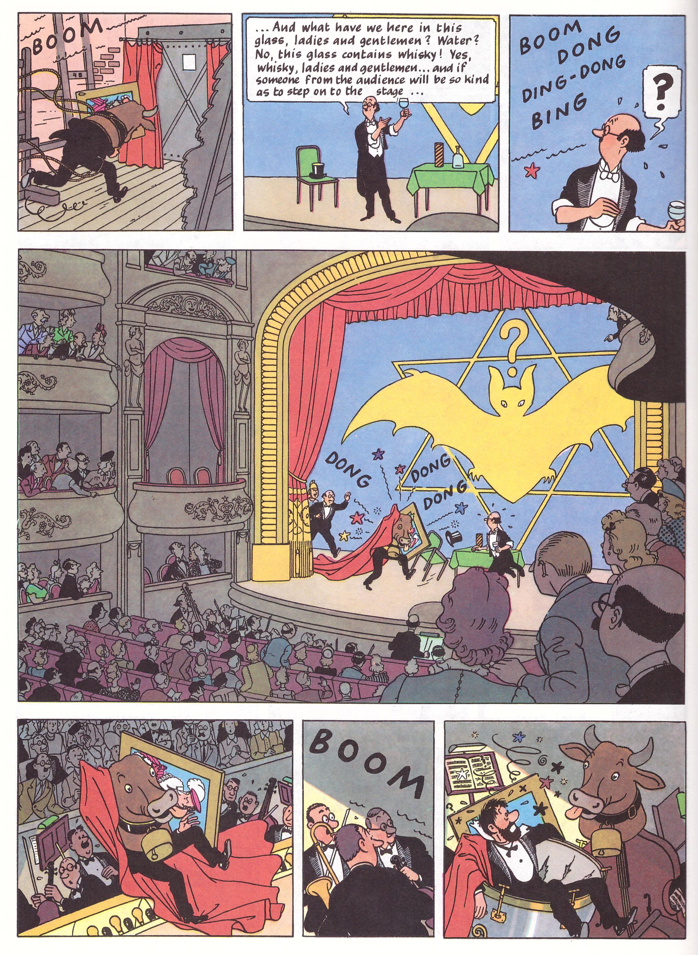 Tintin The Seven Crystal Balls review