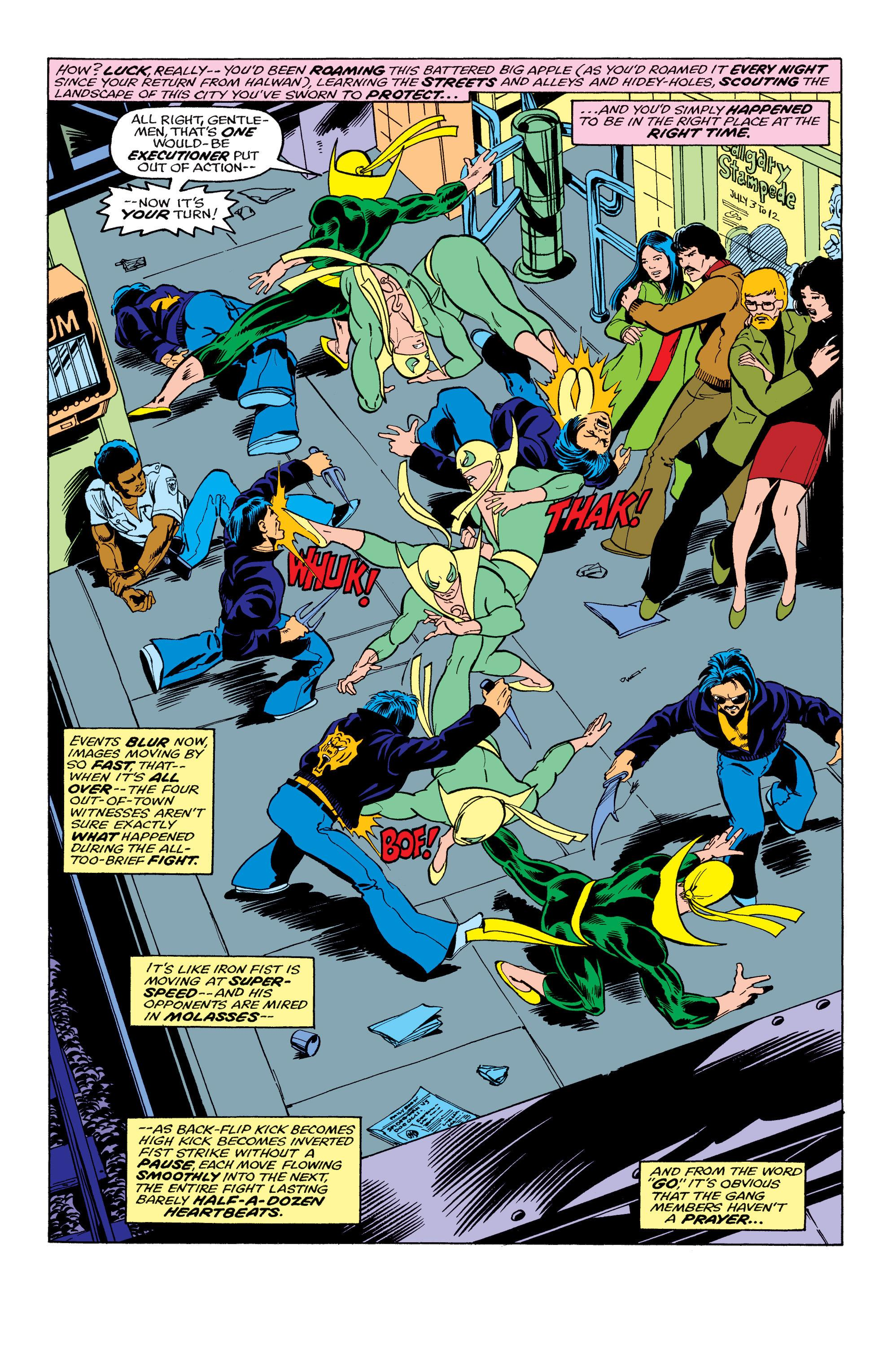 Iron Fist Marvel Masterworks vol 2 review