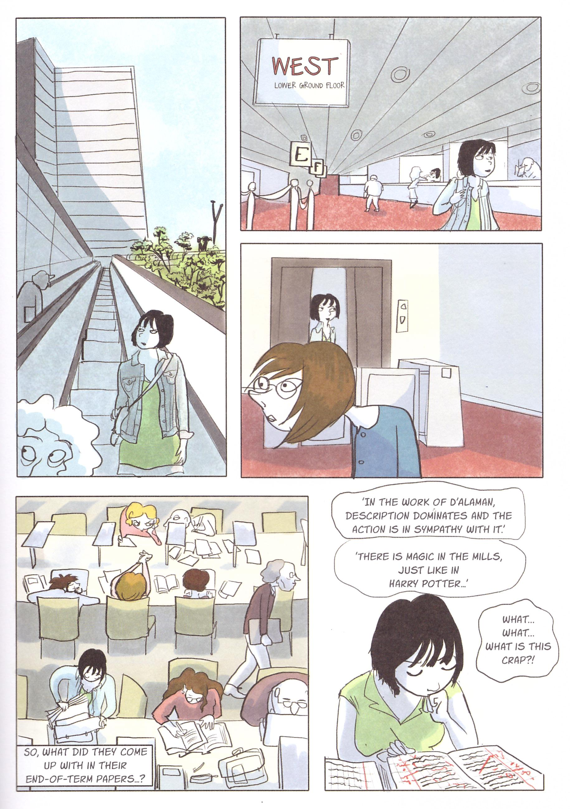 Notes on a Thesis graphic novel review