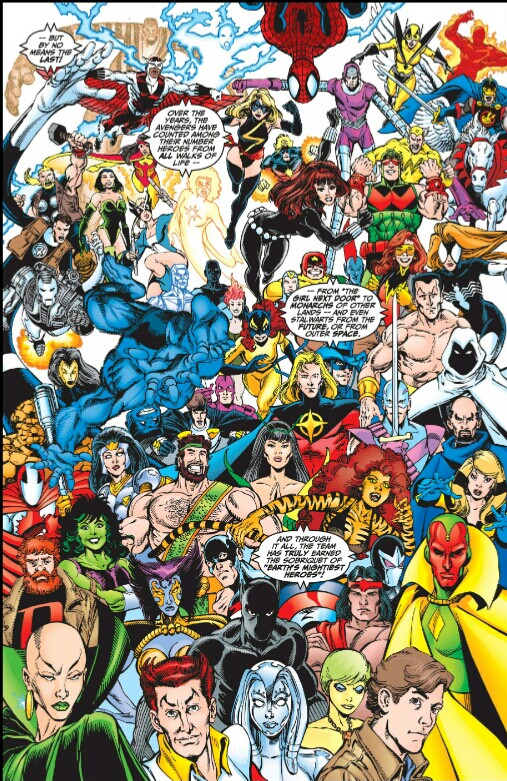 Avengers George Perez Marvel Artist Select review sample image