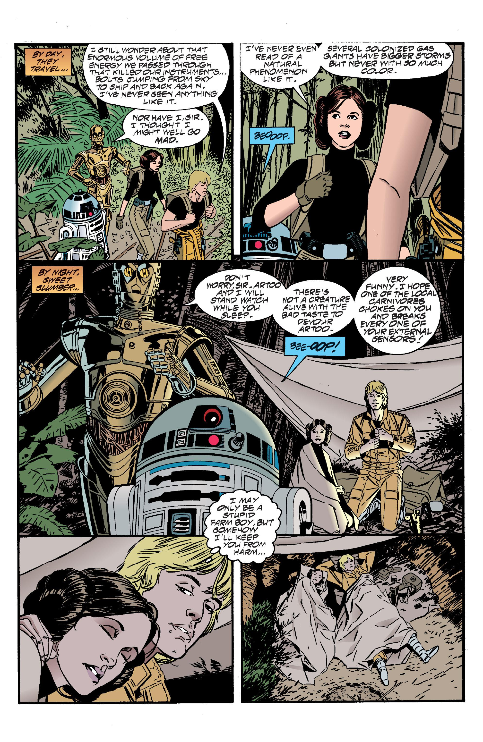 Star Wars Splinter of the Mind's Eye graphic novel review