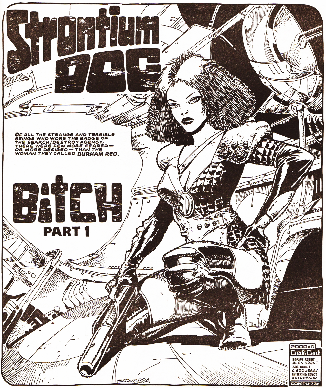 Strontium Dog Agency Files 04 Review